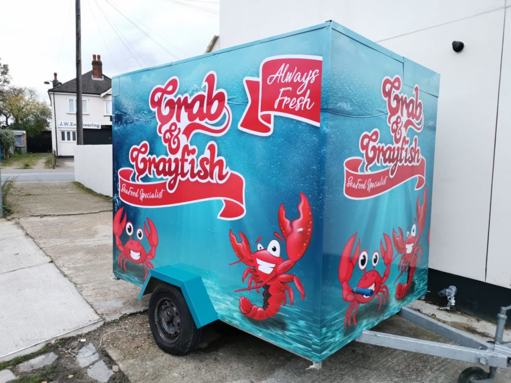 Crab and Crayfish Trailer