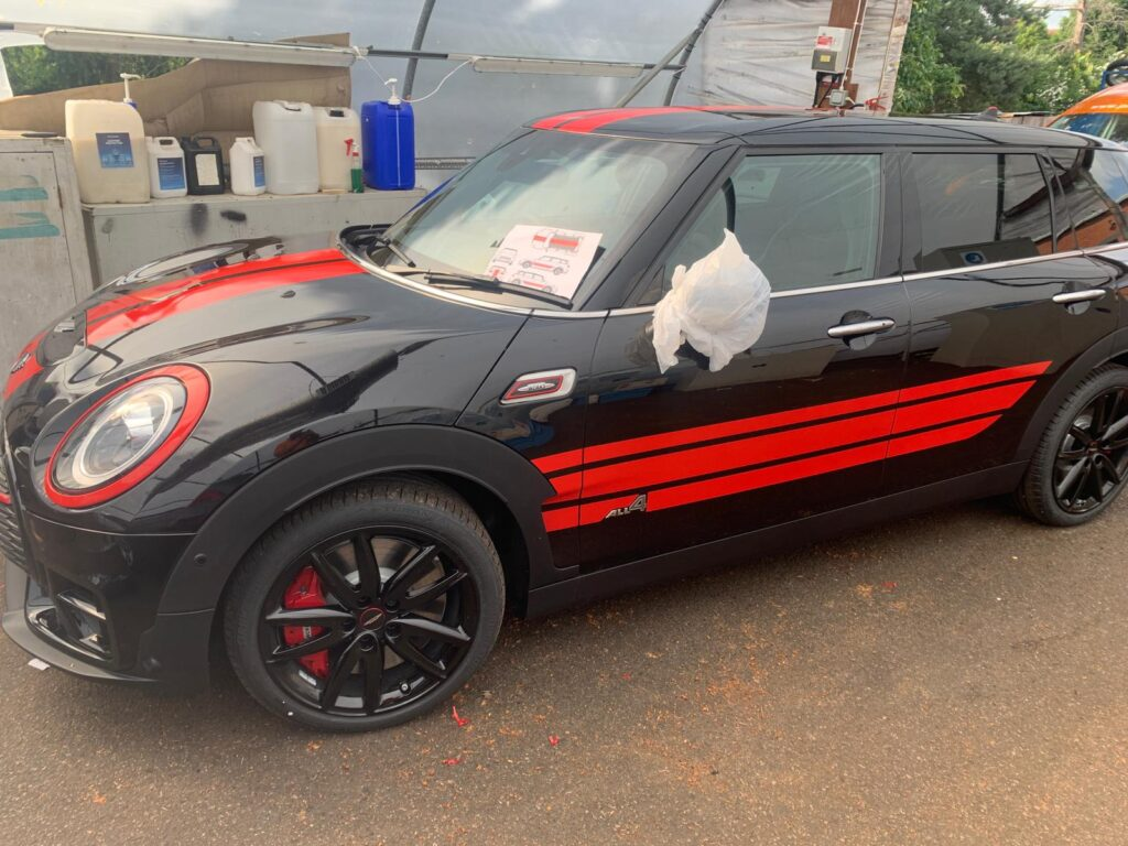 Black and Red Mini Side