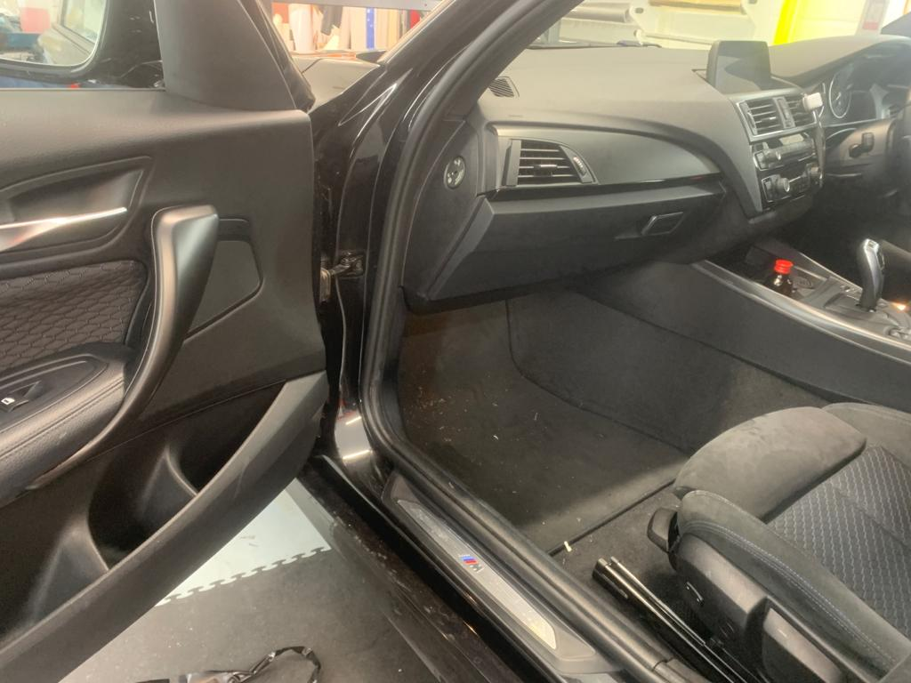 Car Interior After