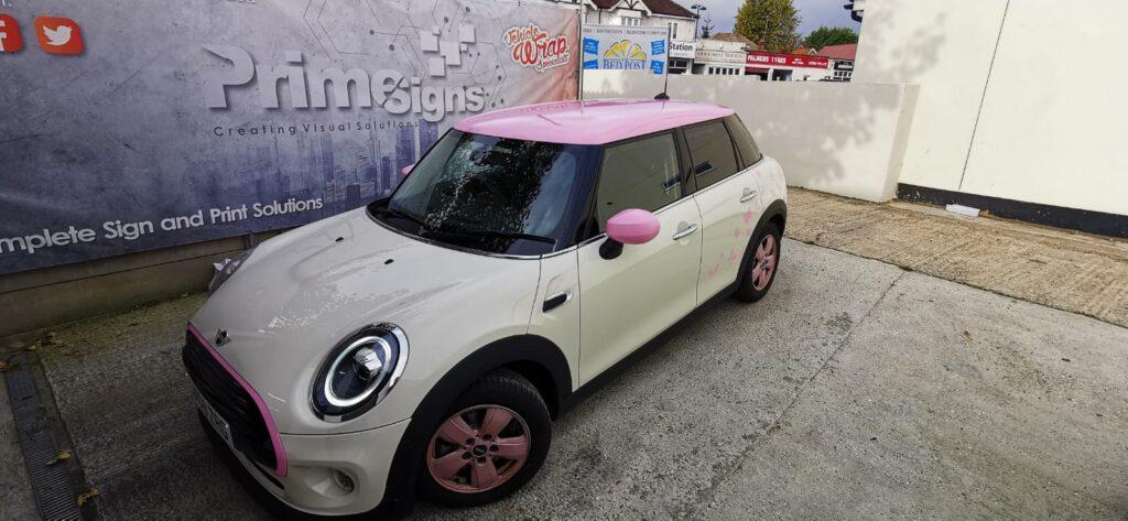 Pink Mini Detail Side
